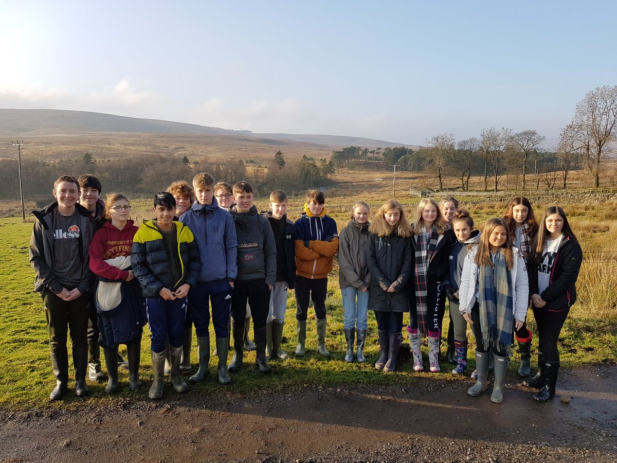 Year 9 Geography Fieldtrip to Nethergill Farm