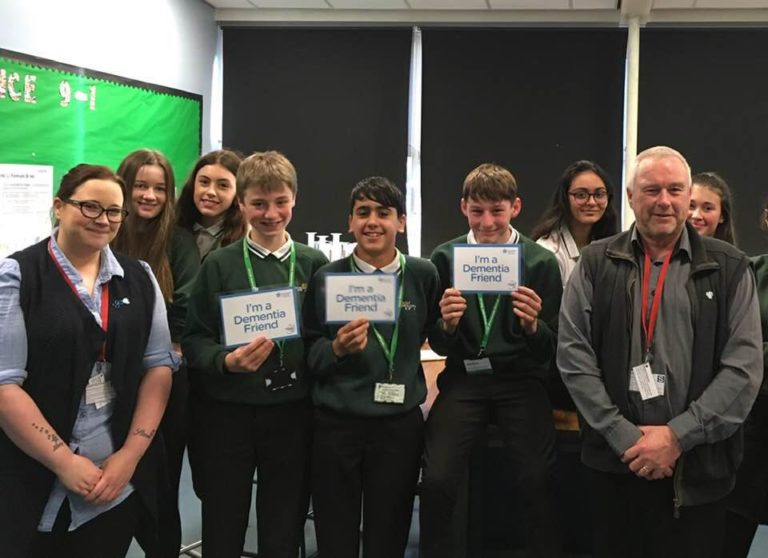 Students commit to become dementia friendly