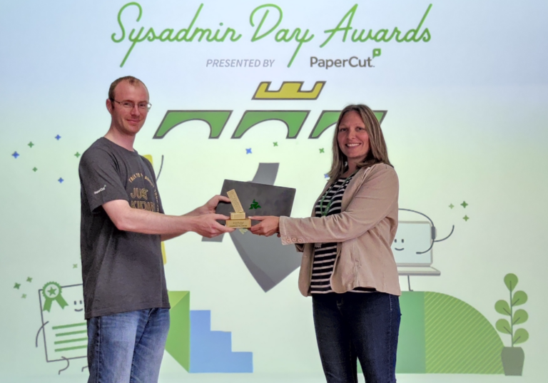 Read more about the article Sysadmin of the Year